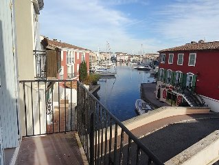 Apartment Rue des Artisans  in Port Grimaud, Cote d'Azur - 6 persons, 3 bedrooms