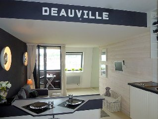 Apartment Les Marinas  in Deauville - Trouville, Normandy - 2 persons, 1 bedroom