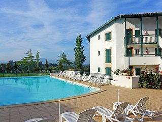 Apartment Les terrasses d'Arcangues  in Arcangues, Basque Country - 8 persons,