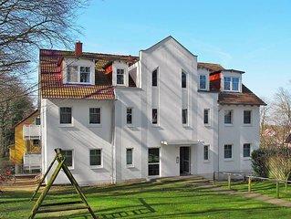 Apartment Ferienwohnung Hohe Strasse  in Zinnowitz, Usedom - 4 persons, 2 bedro
