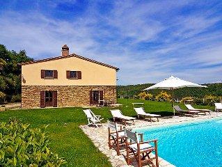 Vacation home Villa La Piaggia  in Arezzo, Arezzo, Cortona and surroundings - 1
