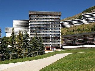 Apartment Pelvoux  in Les Menuires, Savoie - Haute Savoie - 7 persons, 2 bedroo