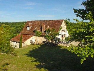 Ferienhaus in Carennac, Perigord / Dordogne / Lot - 7 Personen, 3 Schlafzimmer