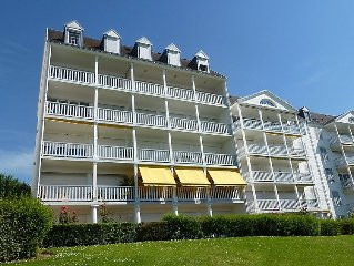 Apartment Le Parc Cordier  in Deauville - Trouville, Normandy - 4 persons, 1 be