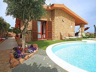 Ferienhaus Gatti  in Costa Paradiso, Sardinien - 8 Personen, 3 Schlafzimmer