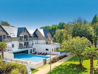Apartment Les Jardins d'Arvor  in Benodet, Brittany - Southern - 4 persons, 2 b