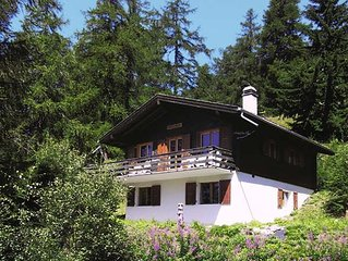 Vacation home Chalet Soldanella  in Bellwald, Oberwallis - 6 persons, 3 bedrooms