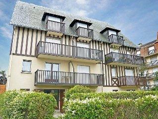 Apartment Le Vert Clos  in Villers sur mer, Normandy - 4 persons, 1 bedroom