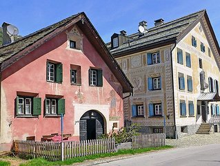 Apartment Chesa Rossa  in Bever, Engadine - 2 persons, 1 bedroom