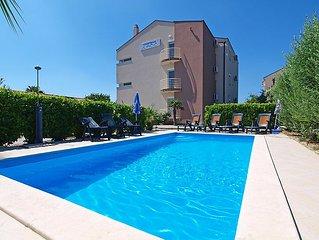 Ferienwohnung Marko  in Zadar/Bibinje, Norddalmatien - 6 Personen, 2 Schlafzimme