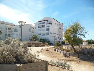 Apartment Les Cyclades  in Port Leucate, Hérault - Aude - 4 persons, 1 bedroom