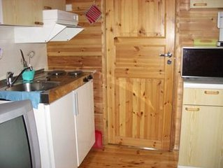 Vacation home Inarin poropirtit / kopara  in Inari, Lappi - 4 persons, 1 bedroom