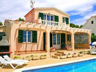 Ferienhaus Villas Torre Soli 116TS 3 dorm  in Son Bou, Menorca - 6 Personen, 3 S