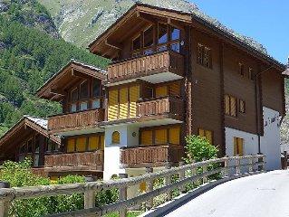 Ferienhaus La Prairie  in Zermatt, Wallis - 4 Personen, 1 Schlafzimmer