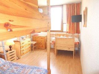 Apartment Vostok Zodiaque  in Le Corbier, Savoie - Haute Savoie - 2 persons, 1