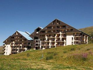 Apartment Le Sarvan  in Les Menuires, Savoie - Haute Savoie - 4 persons, 1 bedr
