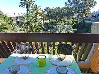 Apartment Les Louvans  in Saint Aygulf, Cote d'Azur - 4 persons, 1 bedroom