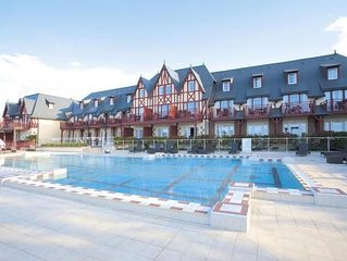 Holiday accomodations Residence & Spa, Houlgate  in Calvados - 6 persons, 2 bed