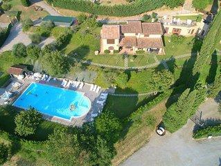 Ferienhaus Hillside pretty Home  in Città della Pieve, Trasimenischer See - 8 Pe