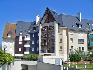 Apartment Goelette / Galion 1 et 2  in Cabourg, Normandy - 5 persons, 2 bedrooms