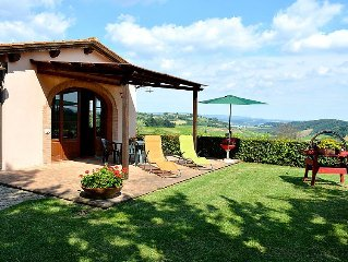 Vacation home L´Azalea  in San Gimignano, Tuscany Chianti - 4 persons, 2 bedroo