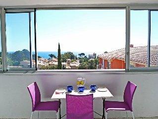 Apartment Les Arcades de la Mediterranee  in Saint Aygulf, Cote d'Azur - 6 pers