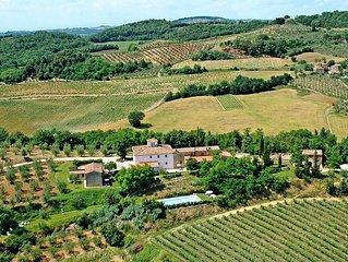 Apartment Podere La Moraia  in Poggibonsi (SI), Siena and surroundings - 4 pers