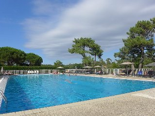 Apartment Golf Chiberta  in Anglet, Basque Country - 6 persons, 3 bedrooms