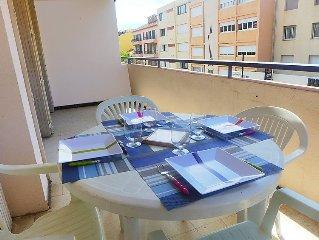 Ferienwohnung Les Iris  in Le Lavandou, Cote d'Azur - 4 Personen, 1 Schlafzimmer