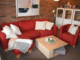 Ferienhaus Samtmuschel  in Norddeich, Nordsee - 4 Personen, 2 Schlafzimmer