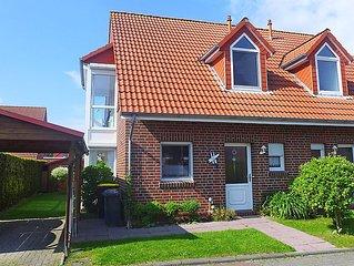 Ferienhaus Aquantis  in Norddeich, Nordsee - 5 Personen, 3 Schlafzimmer