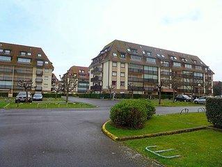 Apartment Le Grand Cap  in Villers sur mer, Normandy - 2 persons, 1 bedroom