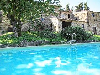 Vacation home Le Bonatte  in Radda in Chianti, Tuscany Chianti - 4 persons, 2 b