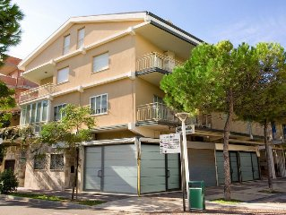 Apartment Bellavista  in Cattolica, Emilia Romagna - 5 persons, 2 bedrooms