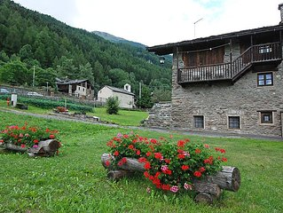 Apartment Grand Haury  in Arvier, Aosta Valley - 4 persons, 2 bedrooms