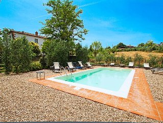 Ferienhaus Villa Osteria  in Cortona, Arezzo, Cortona und Umgebung - 11 Personen