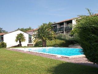 Apartment Plein Soleil  in Saint - Jean - de - Luz, Basque Country - 2 persons,