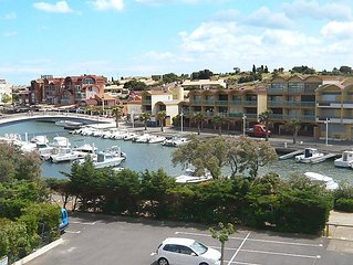 Apartment Les Marines II  in Gruissan, Hérault - Aude - 4 persons, 1 bedroom