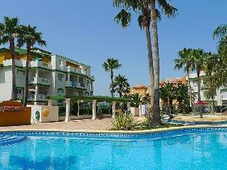 Ferienwohnung La Fontana  in Denia, Costa Blanca - 4 Personen, 2 Schlafzimmer