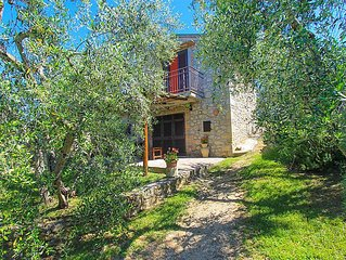Vacation home Montecalvo  in Roccastrada, Siena and sourroundings - 3 persons,
