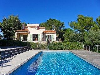 Vacation home Villa Rosa  in Bormes - les - Mimosas, Cote d'Azur - 10 persons,
