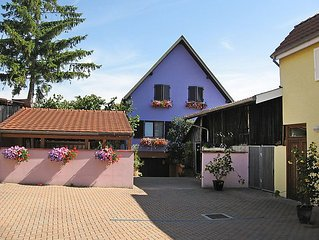 Apartment Residence jaune et rose  in Marckolsheim, Alsace - 4 persons, 1 bedro