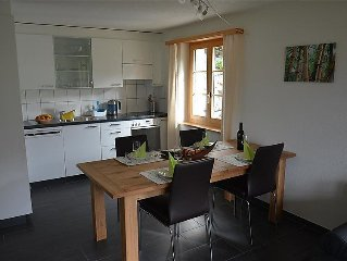 Apartment Bijou Eggetli  in Zweisimmen, Bernese Oberland - 4 persons, 1 bedroom