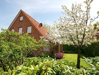 Vacation home Robbe  in Norddeich, North Sea - 6 persons, 3 bedrooms