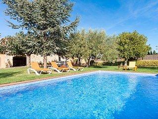 Ferienhaus Can Magi  in Pals, Costa Brava - 8 Personen, 4 Schlafzimmer
