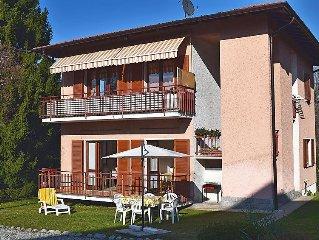Ferienwohnung Genesio  in Castelveccana, Lago Maggiore - 5 Personen, 2 Schlafzim