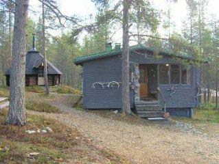 Ferienhaus Toka-kota  in Inari, Lappland - 5 Personen, 1 Schlafzimmer
