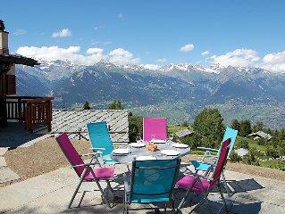 Ferienhaus Le Ruisseau  in Nendaz, Wallis - 4 Personen, 2 Schlafzimmer