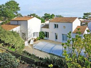 Ferienhaus in La Tranche sur Mer, Vendee - 9 Personen, 5 Schlafzimmer