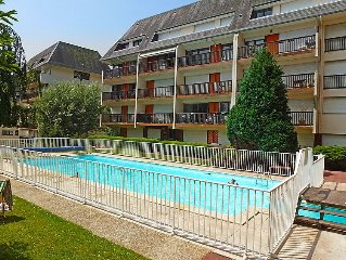 Apartment Le Grand Large  in Deauville - Trouville, Normandy - 3 persons, 1 bed